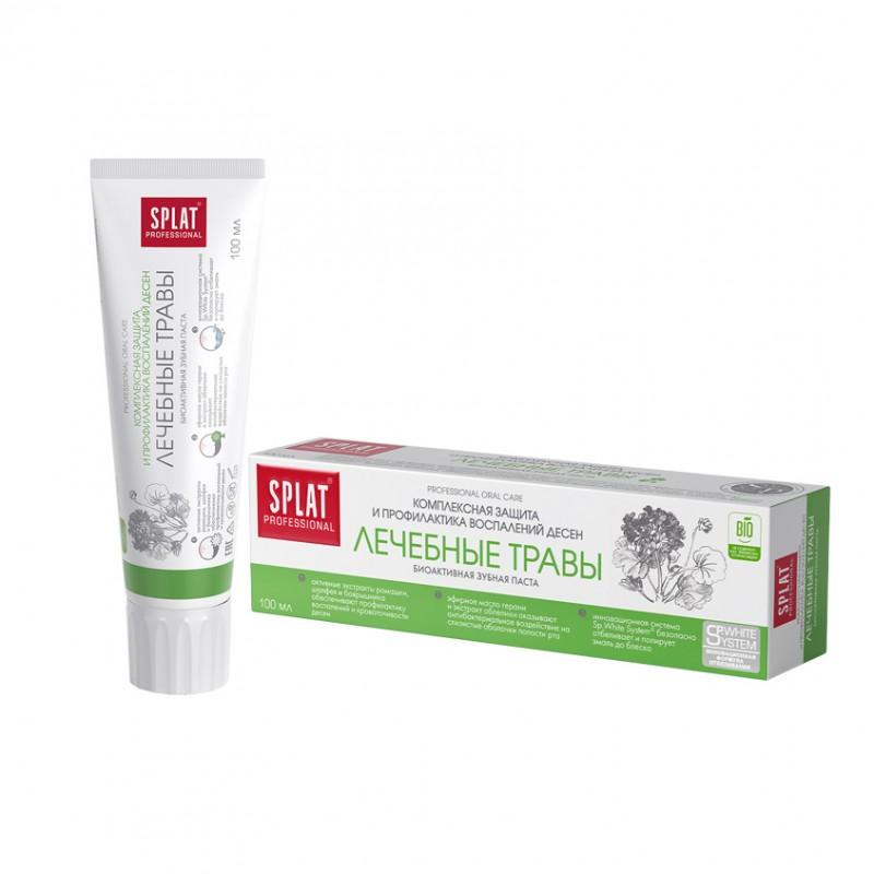 SPLAT Зубная паста MEDICAL HERBS