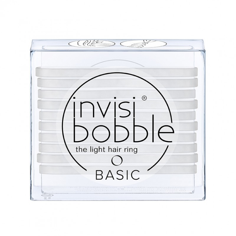 INVISIBOBBLE Резинка для волос invisibobble BASIC Crystal Clear