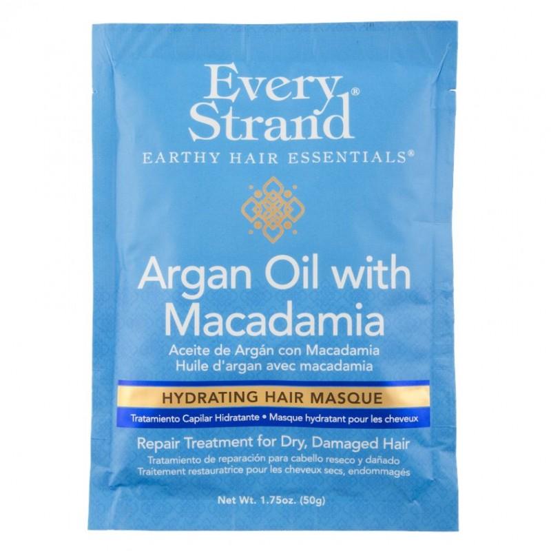 EVERY STRAND Маска для волос EVERY STRAND с маслом арганы и макадамии