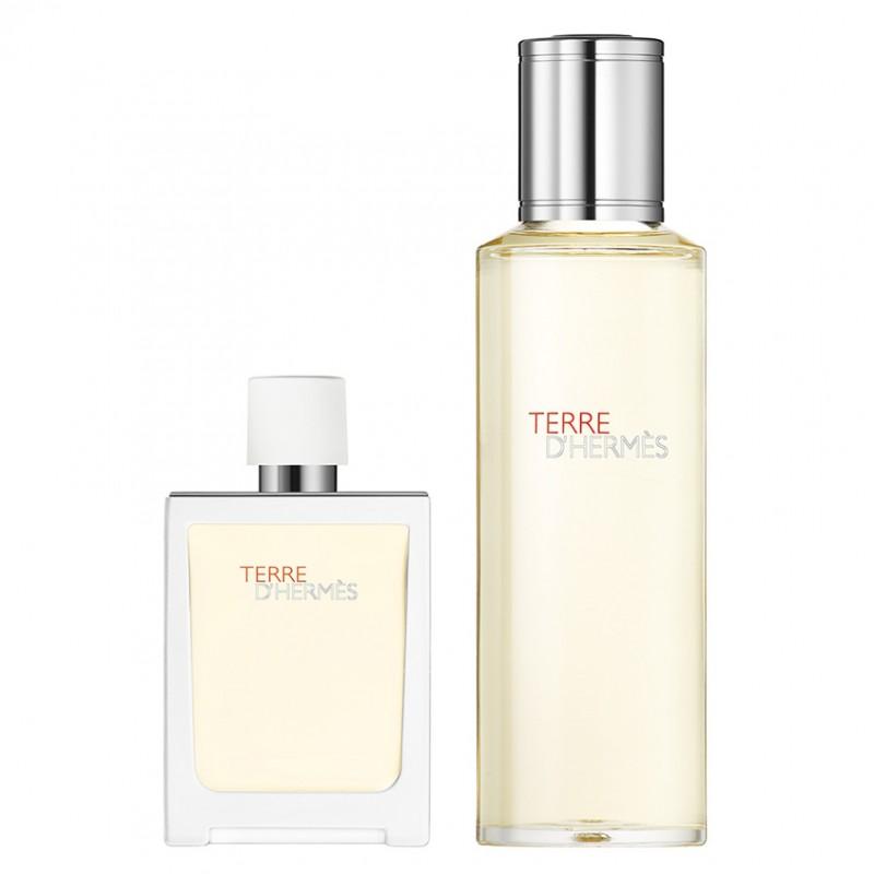 HERMÈS Terre d'Hermès Eau Très Fraîche Eau de Toilette Travel Spray 30 ml and Refill 125 ml