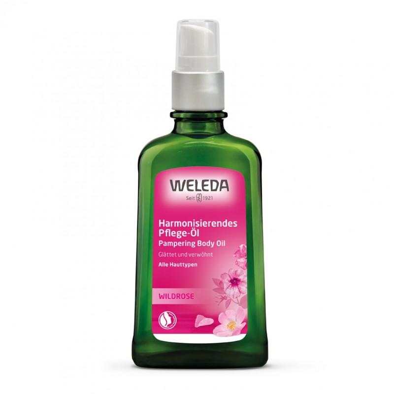 WELEDA Розовое нежное масло для тела