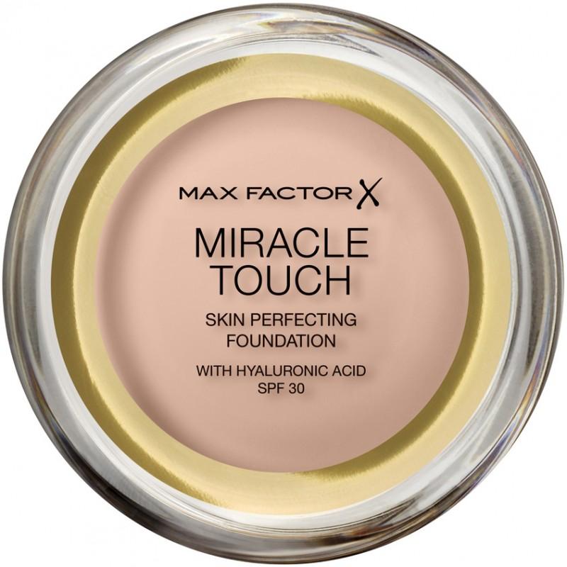 MAX FACTOR Тональная основа для лица Miracle Touch с гиалуроновой кислотой SPF 30