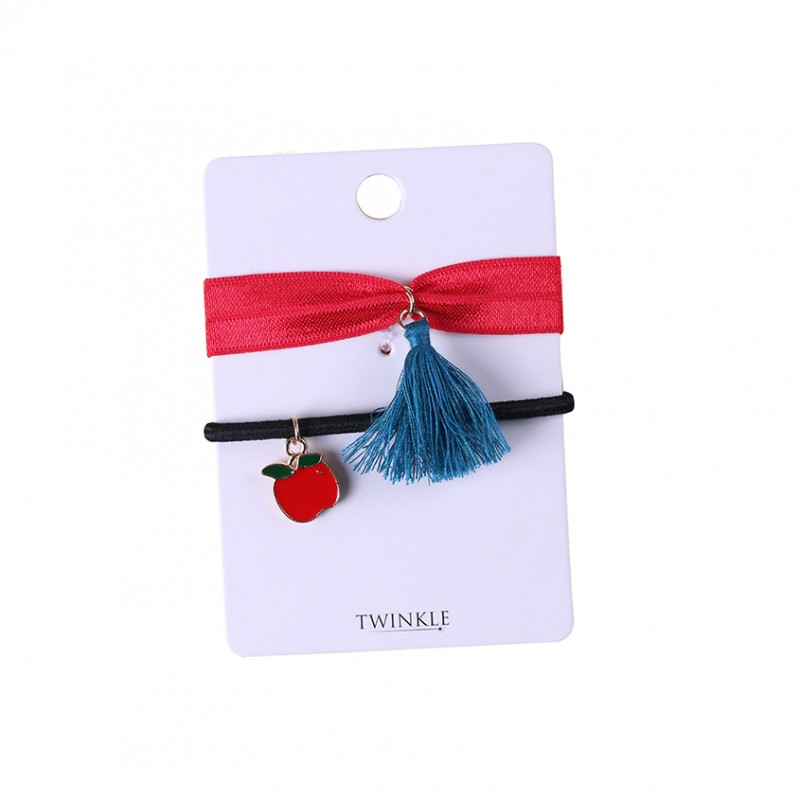 TWINKLE Резинки для волос 2 шт. Apple