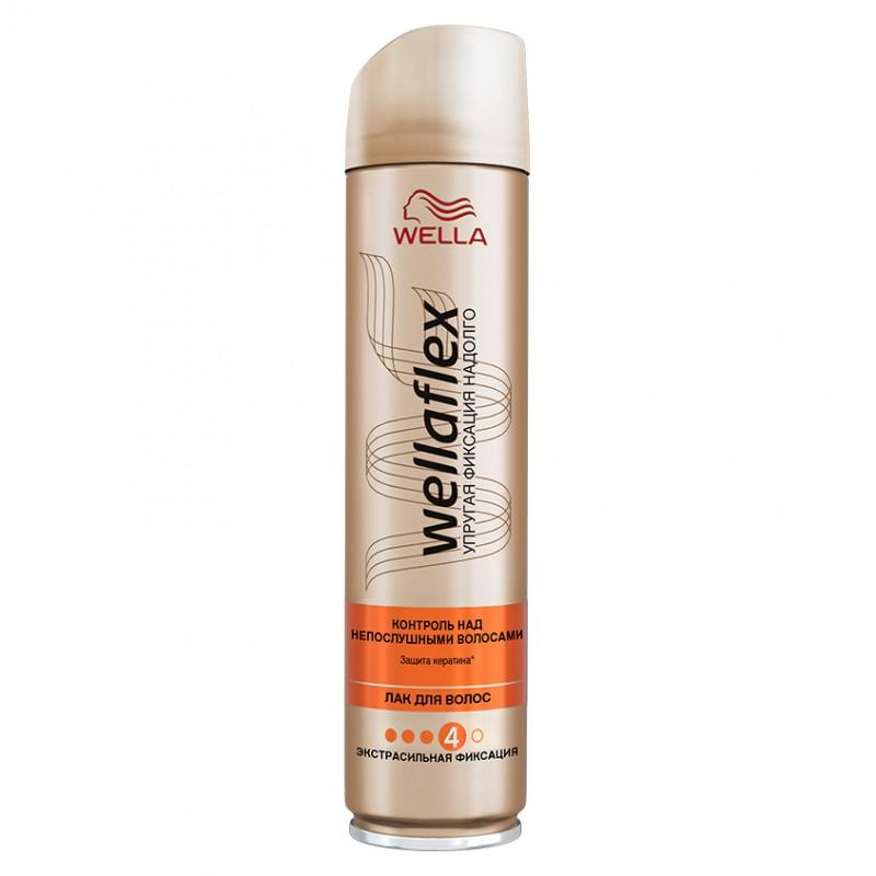 WELLA Лак для волос Wellaflex Контроль над Непослушными Волосами 250 мл