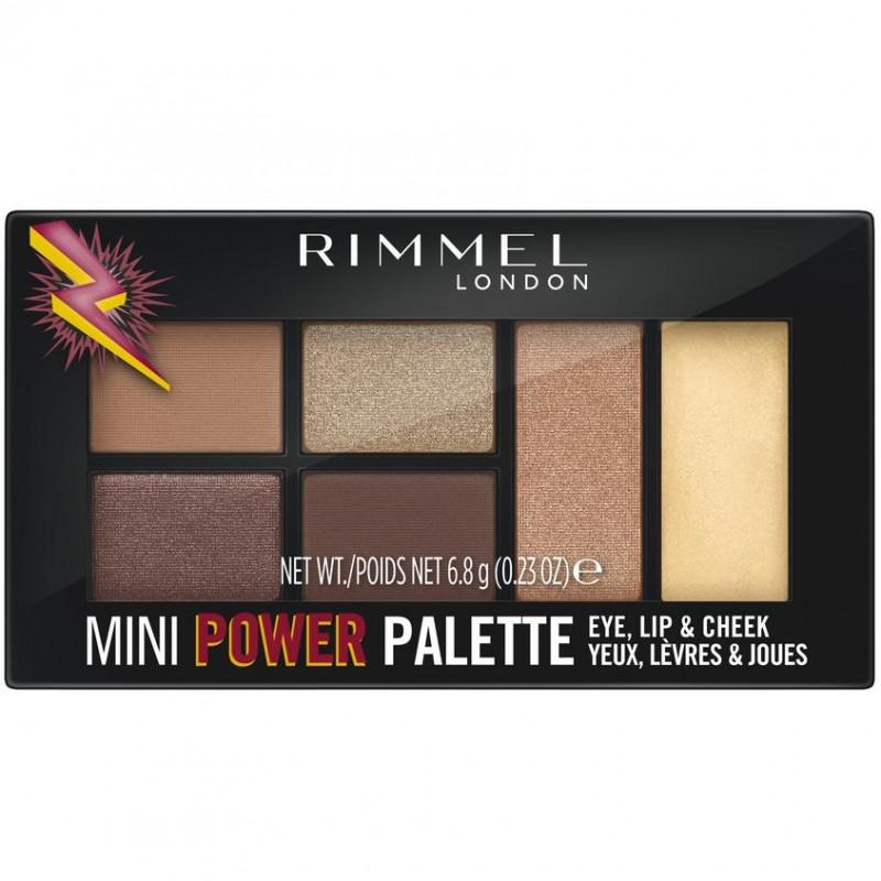 RIMMEL Универсальная палетка Mini Power Palette