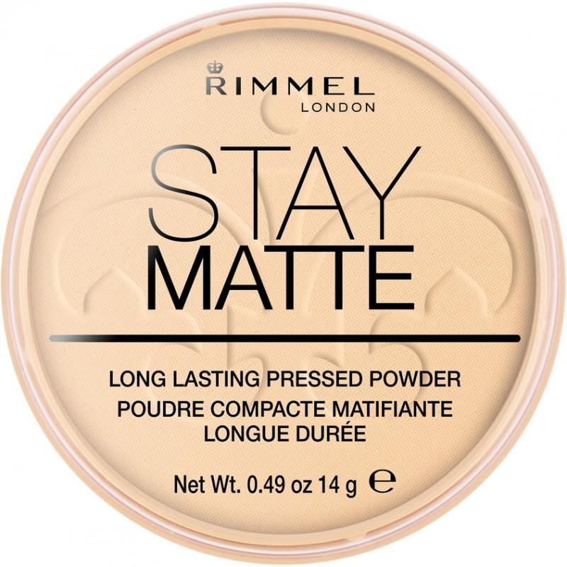 RIMMEL Матирующая пудра для лица Stay Matt