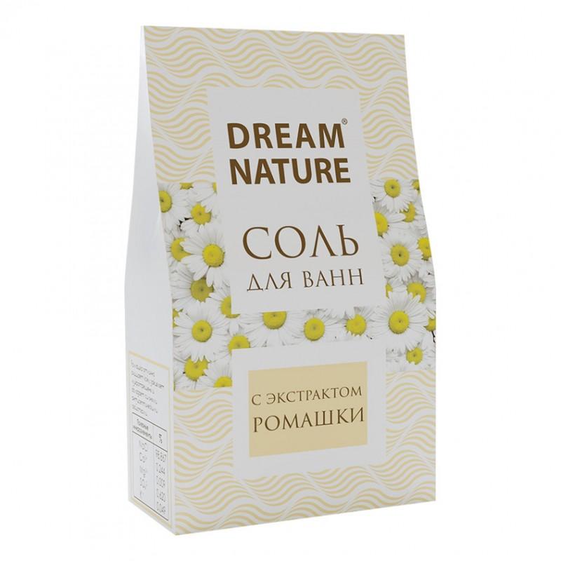 DREAM NATURE Природная соль для ванн