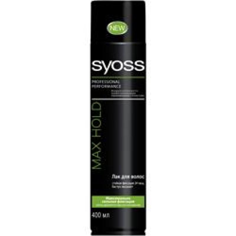 SYOSS Лак для волос Max Hold
