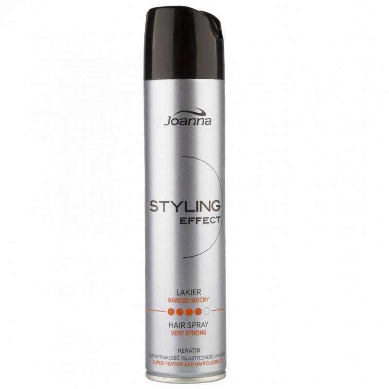 JOANNA Лак для волос STYLING EFFECT очень сильной фиксации с кератином