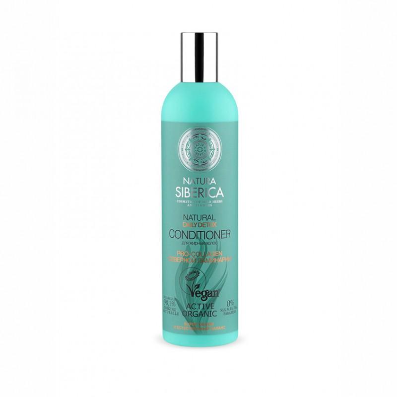 NATURA SIBERICA Daily detox бальзам для жирных волос