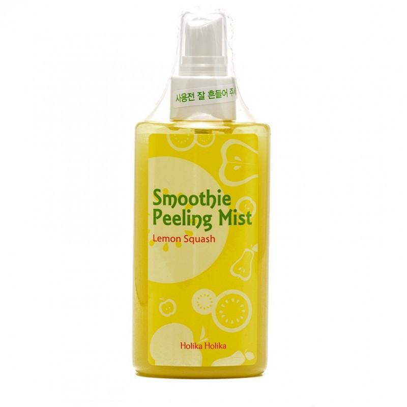 HOLIKA HOLIKA Отшелушивающий мист-скатка с лимоном Smoothie Peeling Mist Lemon Squash
