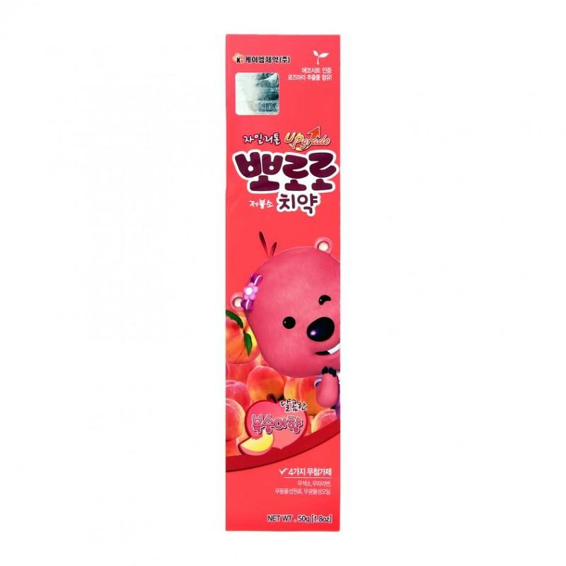 PORORO Паста зубная PORORO детская со вкусом персика (от 2 до 6 лет)