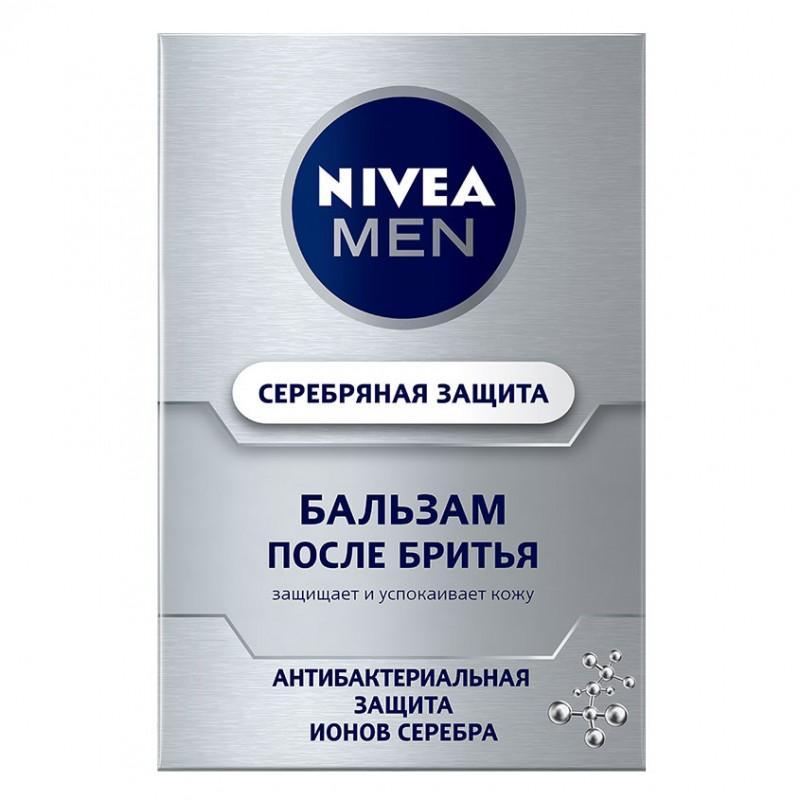 NIVEA Бальзам после бритья Серебряная Защита