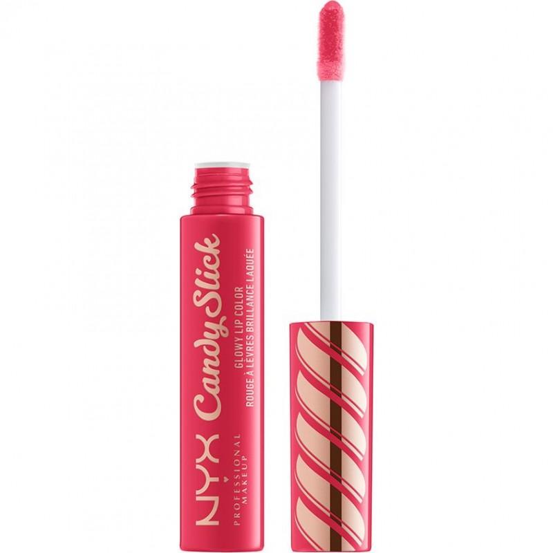 NYX Professional Makeup Насыщенный блеск для губ. CANDY SLICK GLOWY LIP COLOR