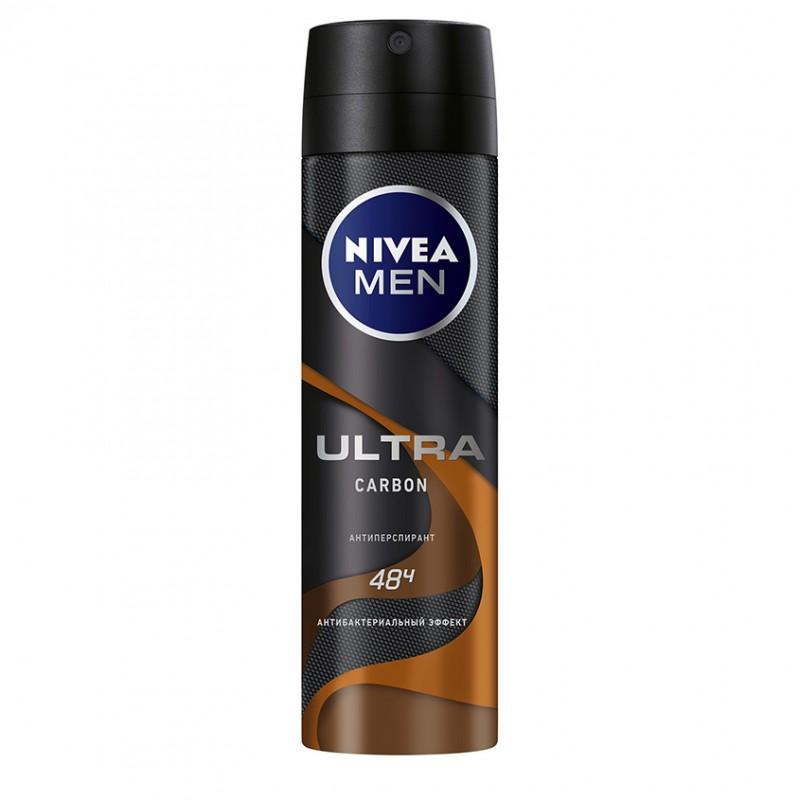 NIVEA Антиперспирант ULTRA CARBON спрей