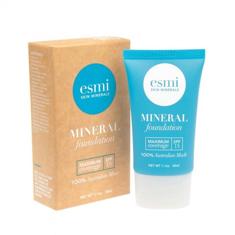 ESMI SKIN MINERALS Тональная основа минеральная Максимальное покрытие