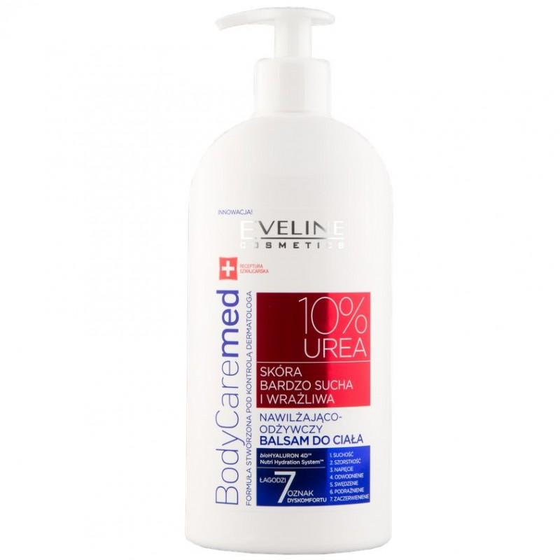 EVELINE Бальзам для тела BODYCAREMED+ увлажняюще-питательный (для сухой и чувствительной кожи)