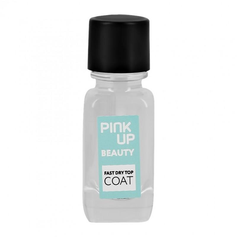 PINK UP Экспресс-сушка для ногтей BEAUTY fast dry top coat 11 мл
