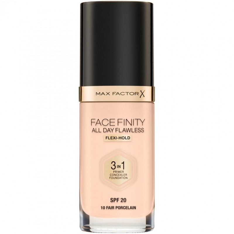 MAX FACTOR Тональная основа 3в1 FACEFINITY ALL DAY FLAWLESS SPF20