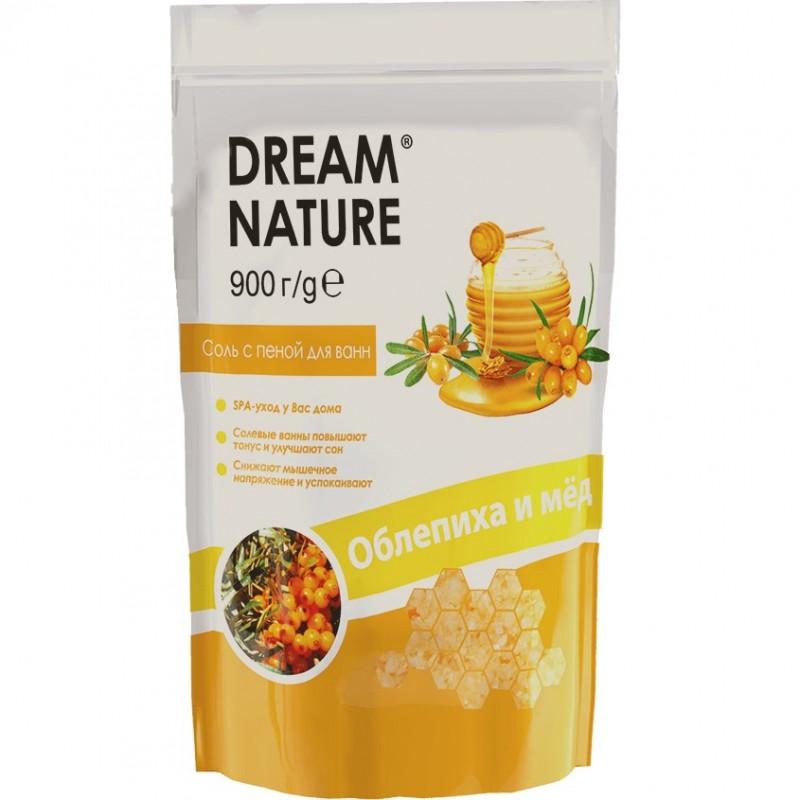 DREAM NATURE Соль с пеной для ванн