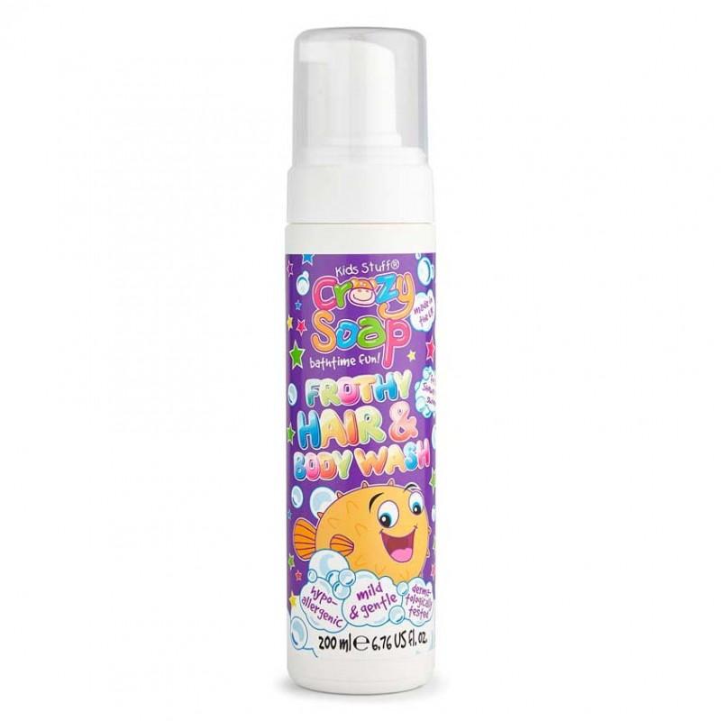 KIDS STUFF Мусс 2-в-1 для мытья тела и волос