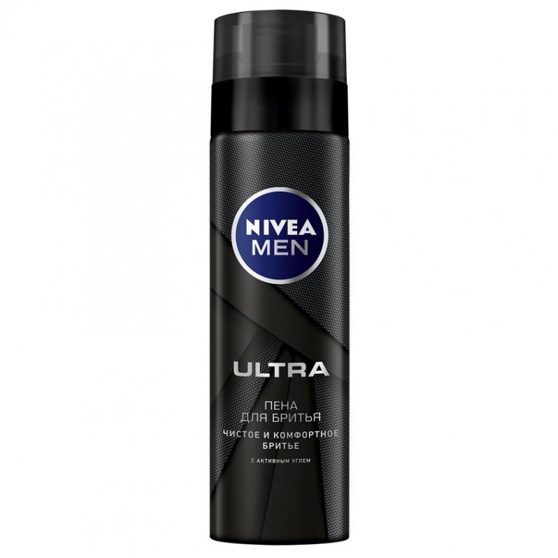 NIVEA Пена для бритья ULTRA 200 мл