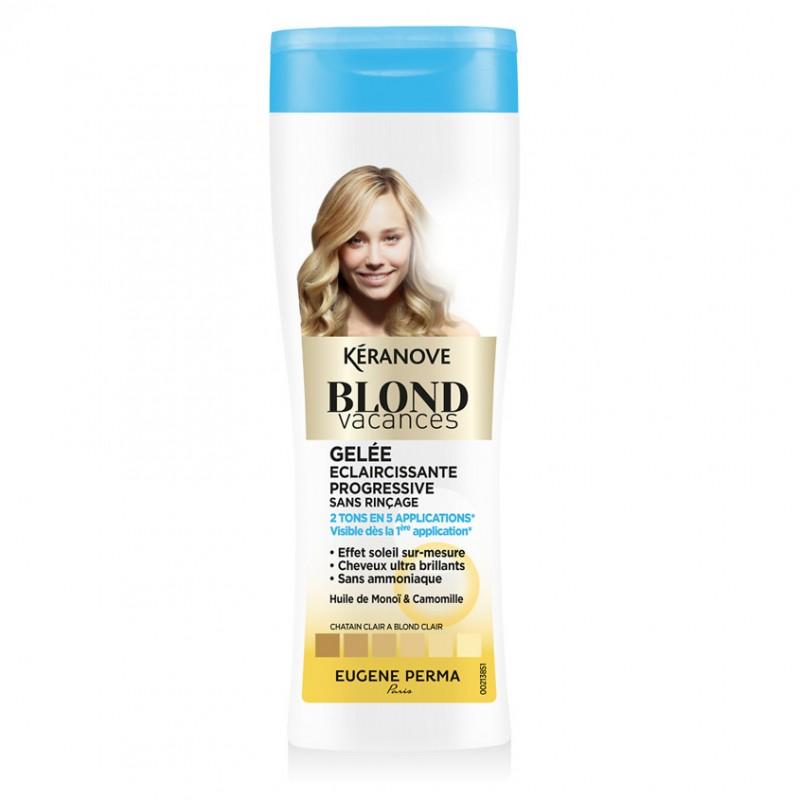 KERANOVE Гель для волос тонирующий Blond Vacances