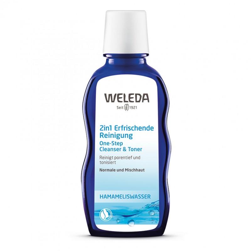 WELEDA Средство освежающее очищающее 2 в 1 для нормальной и смешанной кожи