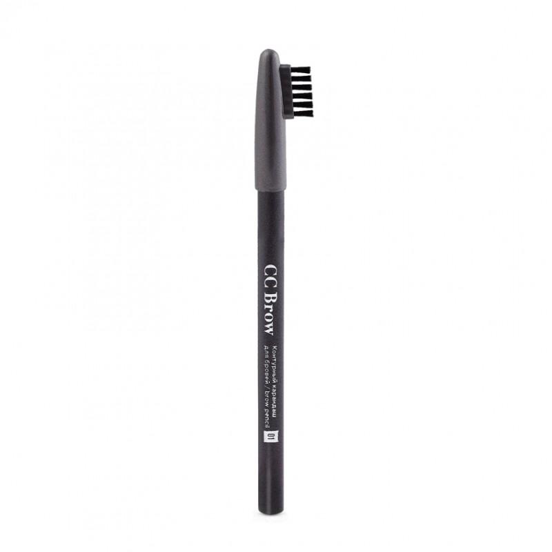 LUCAS Контурный карандаш для бровей Brow Pencil CC Brow