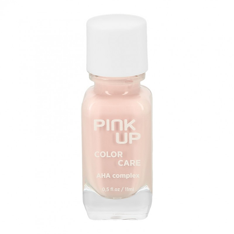 PINK UP Лак для ногтей COLOR CARE