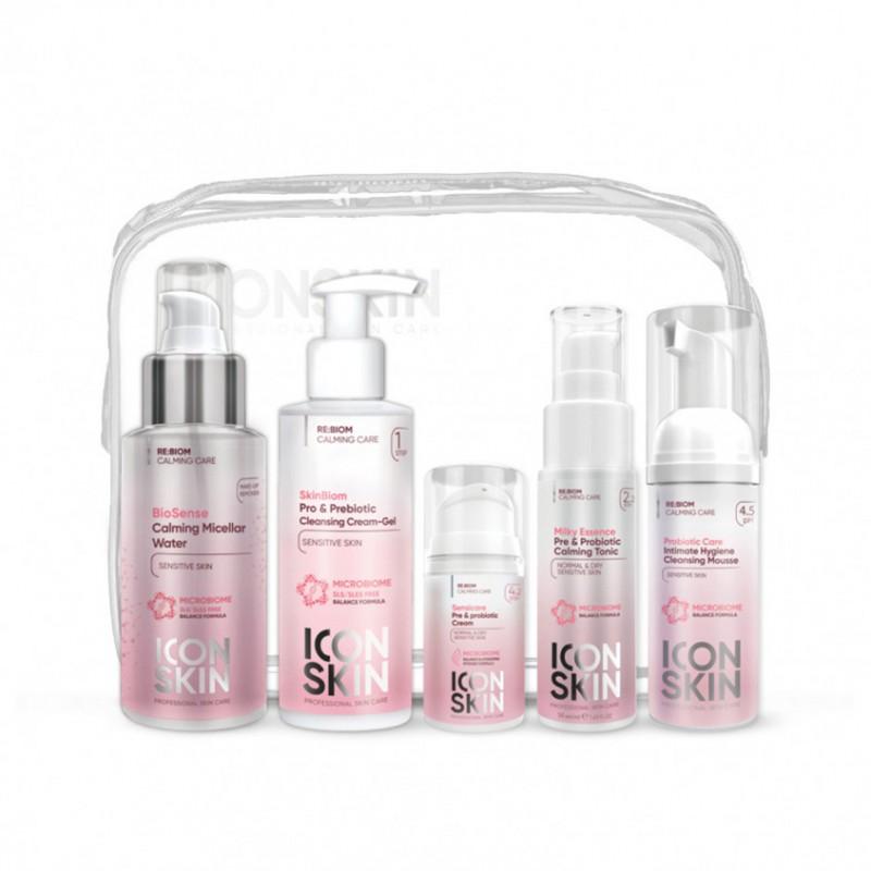 ICON SKIN Набор средств для ухода за сухой и нормальной чувствительной кожей Re:Biom № 1
