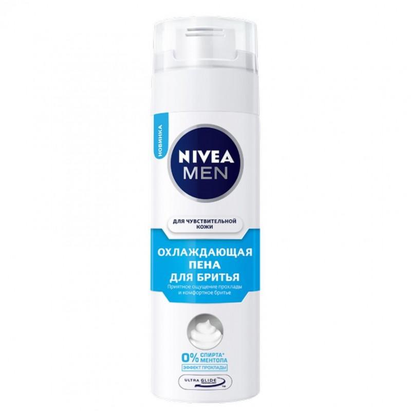 NIVEA Охлаждающая пена для бритья для чувствительной кожи