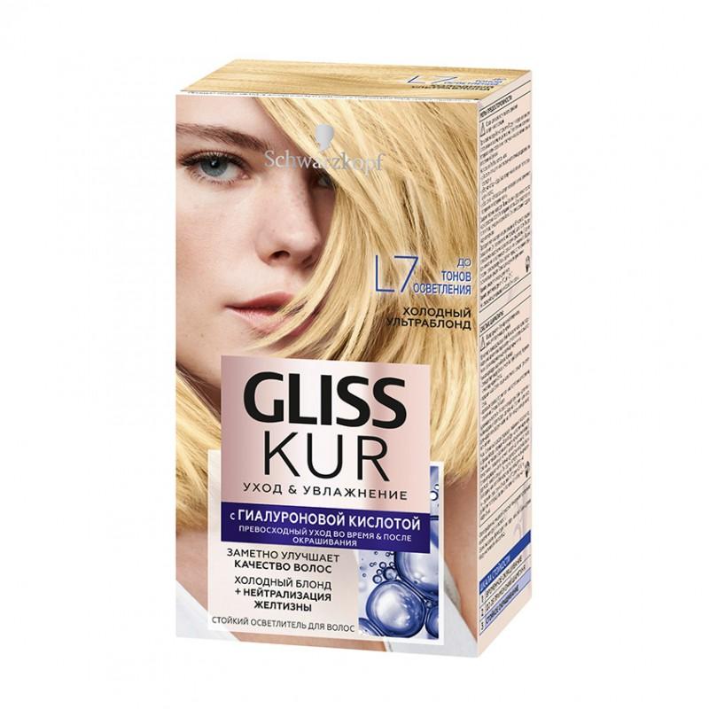 GLISS KUR Краска для волос стойкая с гиалуроновой кислотой